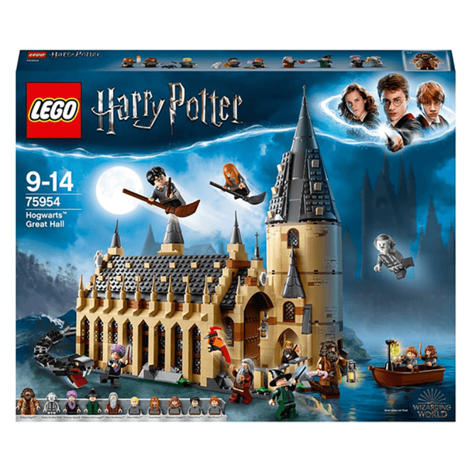 lego harry potter hogwarts great hall  75954  toys and