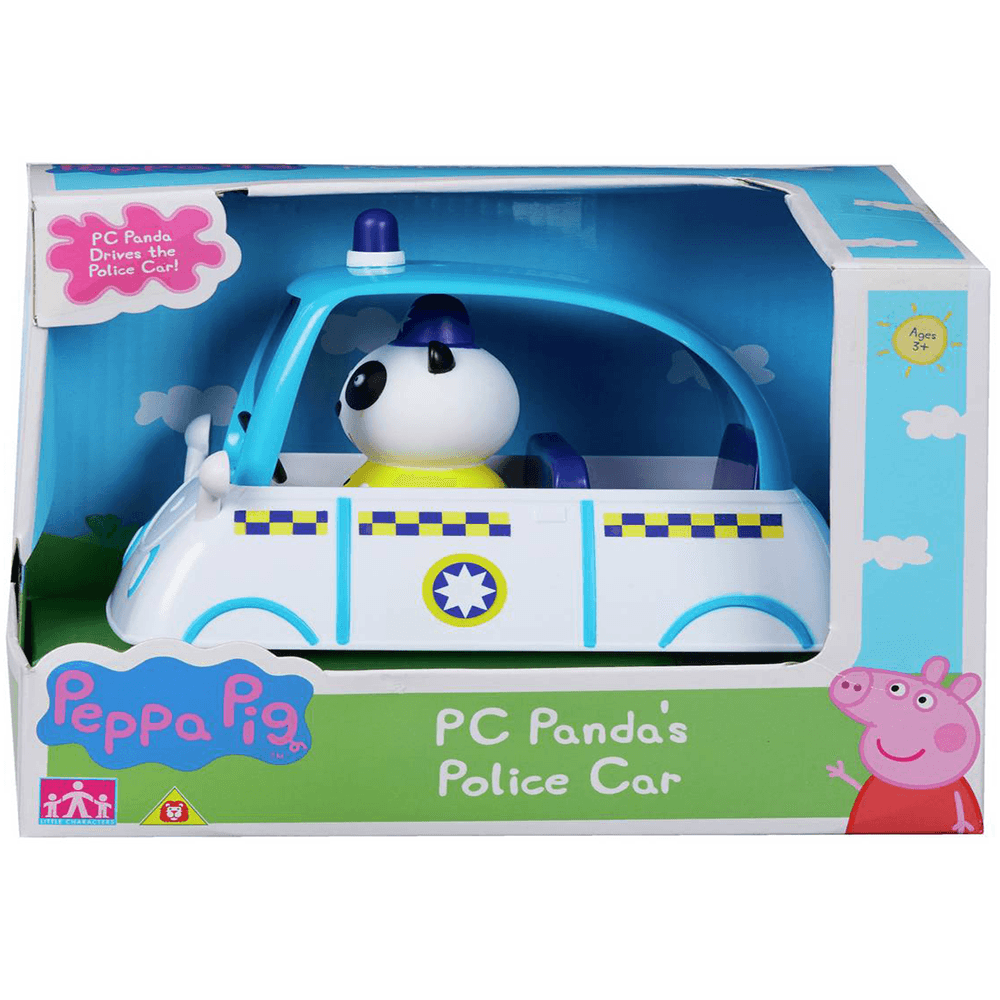 Peppa Pig Pc Panda S Police Car Toys And Games From W J Daniel Co Ltd Uk