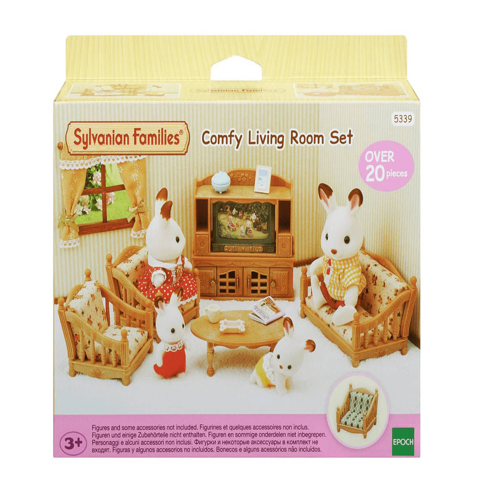 Sylvanian Families Comfy Living Room Set - 5339 - Toys And ...